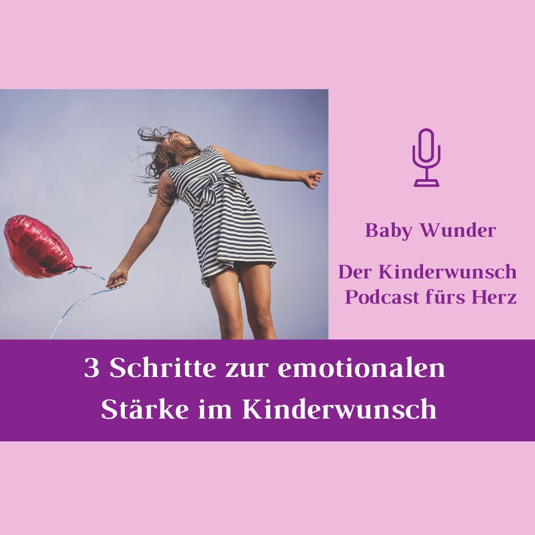 3 Schritte emotionale Stärke Kinderwunsch